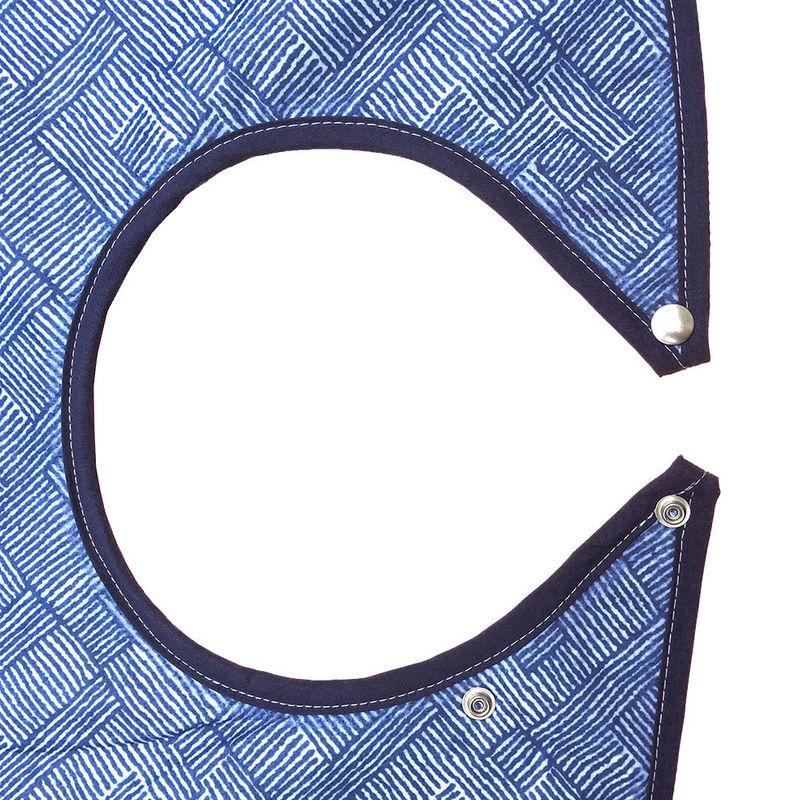 Azure Waterproof Adult Bib / Clothing Protector