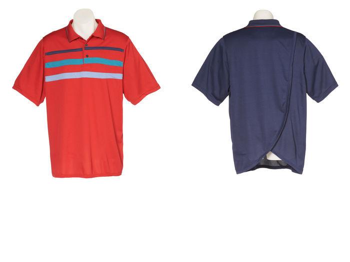 Mens Petal Back Polo Short Sleeve
