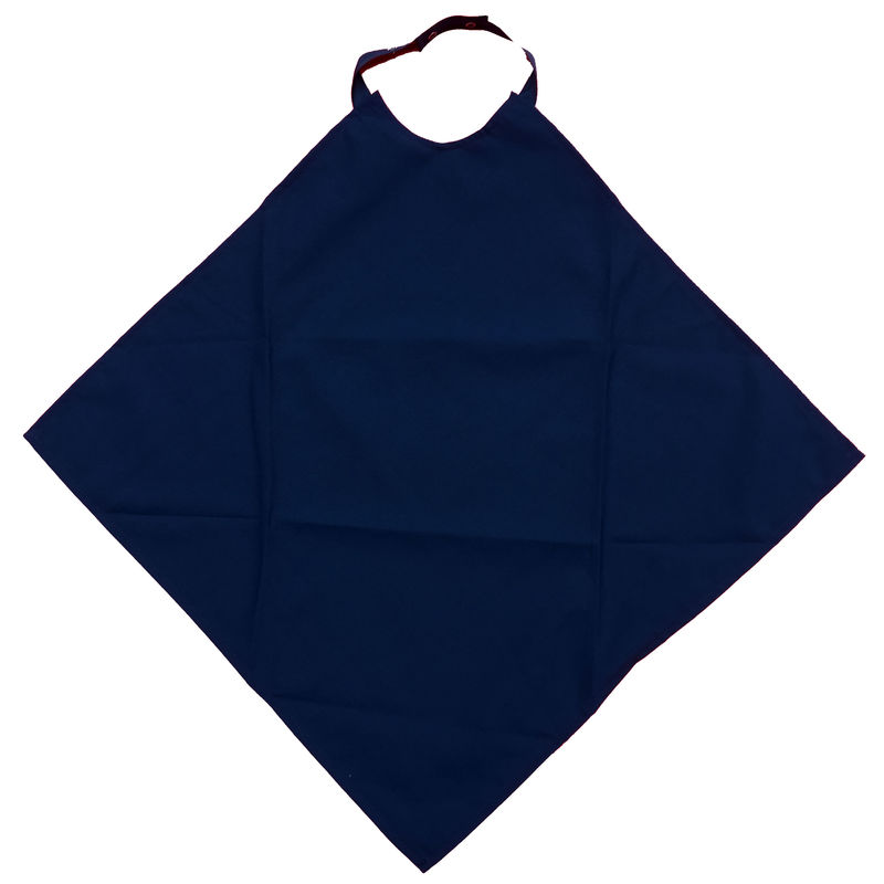 Navy Napkin Waterproof Adult Bib / Clothing Protector