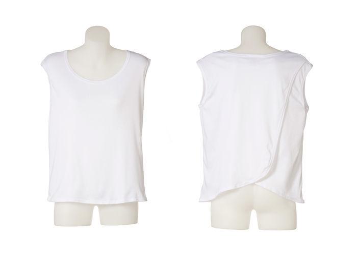 Petal Back Ladies Singlet Vest Under Shirt