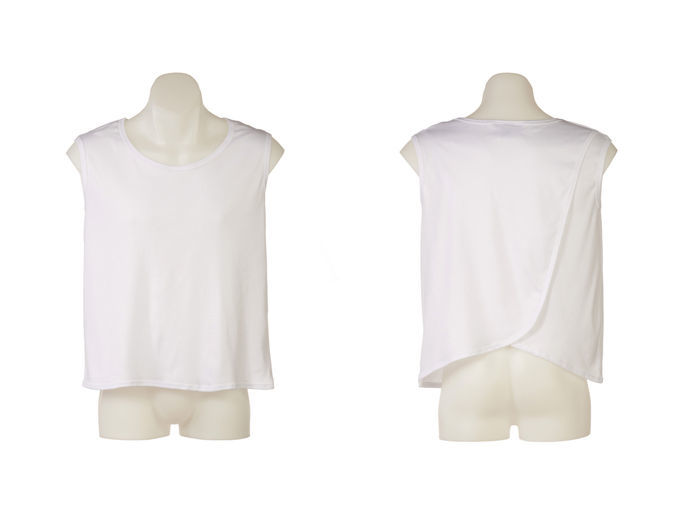 Petal Back Mens Singlet Vest Under Shirt