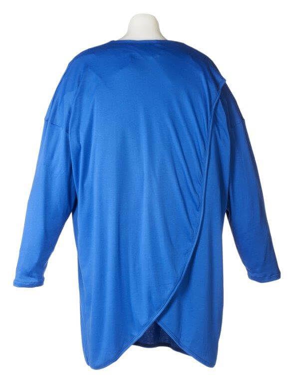 Unisex Bariatric Nightshirt Petal Back Clothing