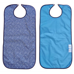 Azure Waterproof Adult Bib / Clothing Protector